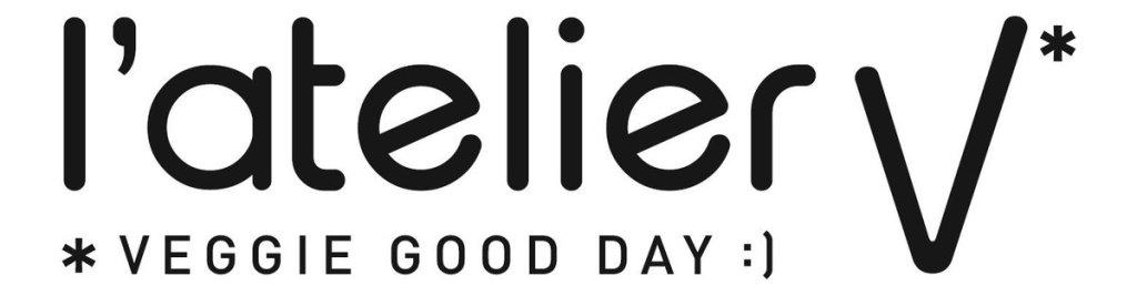 Logo L'atelier V* , pour une alimentation positive