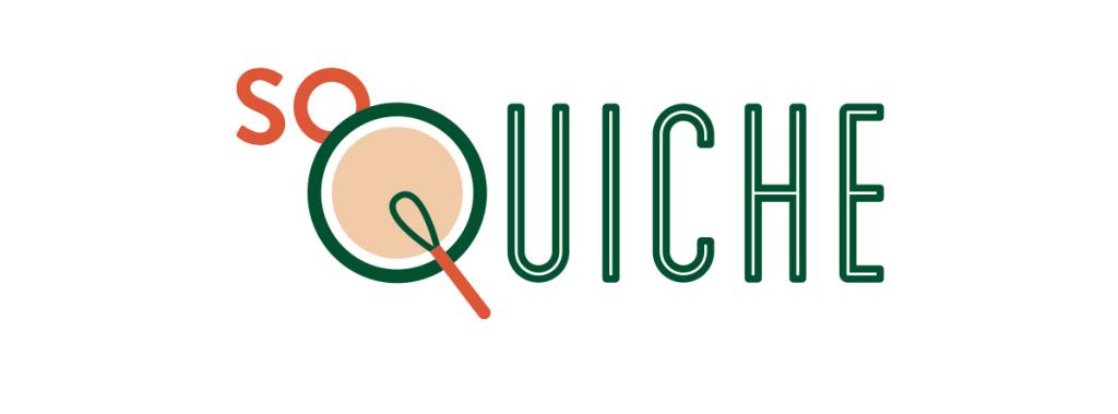 Logo So Quiche, vente à emporter et vente en livraison de quiches régionales issues de variétés anciennes